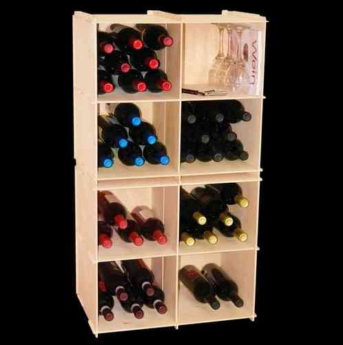 wine rack, wine element A