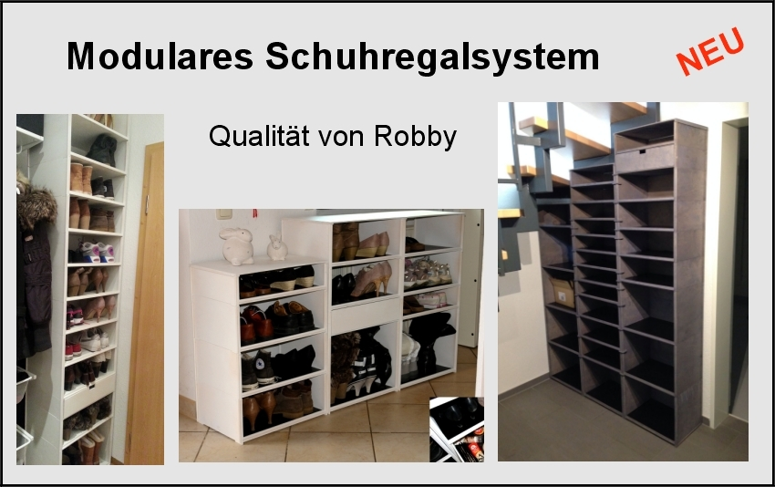 schuhregal weinregal von robby box. Black Bedroom Furniture Sets. Home Design Ideas